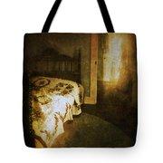 Ghostly Figure In Hallway Tote Bag by Jill Battaglia