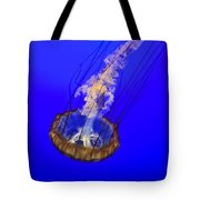 Ghostly Jellyfish Tote Bag