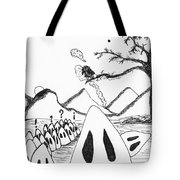 Ghosts 1 Tote Bag