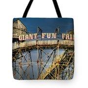 Giant Fun Fair Tote Bag by Adrian Evans