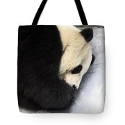 Giant Panda Portrait Tote Bag