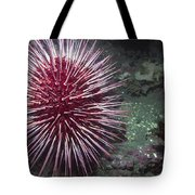 Giant Red Sea Urchin Tote Bag