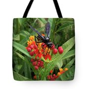 Giant Wasp Tote Bag