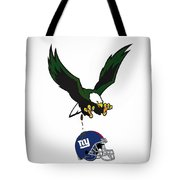 Giants Suck Tote Bag