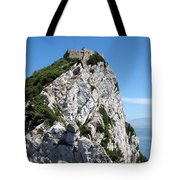 Gibraltar's Moorish Castle Tote Bag