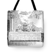 Gibson: Castle In The Air Tote Bag