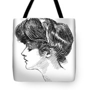 Gibson: Gibson Girl, C1904 Tote Bag
