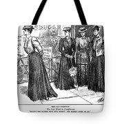 Gibson Girl, 1890s Tote Bag
