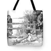 Gibson: Golf Game, 1895 Tote Bag