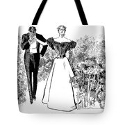 In Garden Of Youth Tote Bag