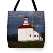 Gilbert Cove Lighthouse Tote Bag