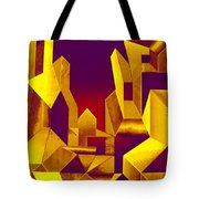 Gilded City  Tote Bag