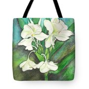 Ginger Lilies Tote Bag