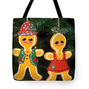 Gingerbread Couple Tote Bag