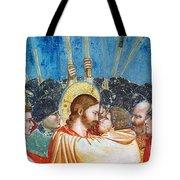 Giotto: Betrayal Of Christ Tote Bag