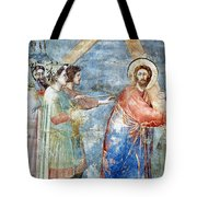 Giotto: Road To Calvary Tote Bag