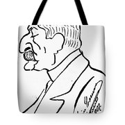 Giovanni Verga (1840-1922) Tote Bag