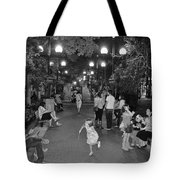 Girl With Magic Wand Tote Bag