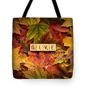 Give-autumn Tote Bag