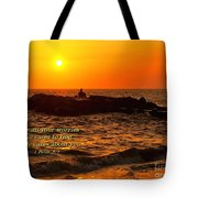 Give Your Cares To God Tote Bag