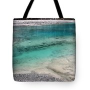 Glacial Pool Inn South New Zealand Tote Bag