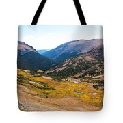 Glacier Cirque - Rocky Mountain National Park Tote Bag