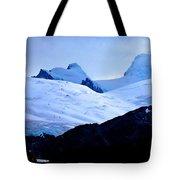 Glacier Cracks Tote Bag