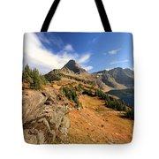 Glacier Hidden Lake Tote Bag