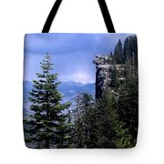 Glacier Point From Four Mile Trail Tote Bag