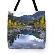 Glacier Reflection Tote Bag