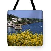 Glandore Village & Harbour, Co Cork Tote Bag
