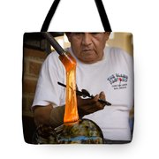 Glass Blower Tote Bag