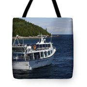 Glass Bottom Boat Tote Bag