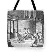 Glass Manufacture, 1751 Tote Bag