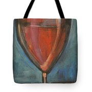 Glass Of Red Tote Bag by Tim Nyberg