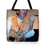 Glass Violin Tote Bag