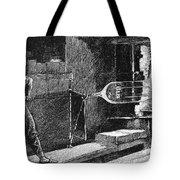 Glassworker, 19th Century Tote Bag