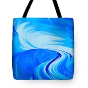 Glassworks In Blue Tote Bag