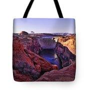 Glen Canyon Dam Tote Bag