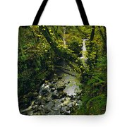 Glenariff, Co Antrim, Ireland Waterfall Tote Bag