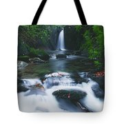 Glencar, Co Sligo, Ireland Waterfall Tote Bag