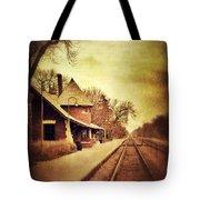 Glencoe Train Station Tote Bag