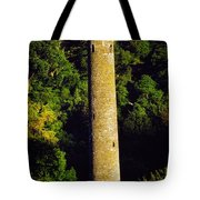 Glendalough, Co Wicklow, Ireland Round Tote Bag
