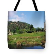 Glendalough, Co Wicklow, Ireland Saint Tote Bag