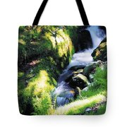 Glendalough, Co Wicklow, Ireland Tote Bag
