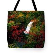 Glenoe Waterfall And Glen, Co Antrim Tote Bag