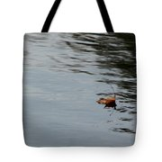 Gliding Across The Pond Tote Bag