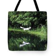 Gliding Through The Swamp Tote Bag