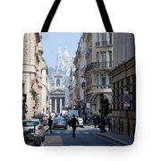 Glimpse Of Montmartre Tote Bag