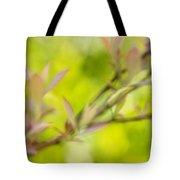 Glimpse Of Spring Tote Bag